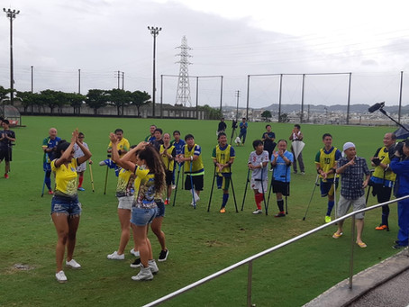 Águia visita Associação de Futebol de Amputados.