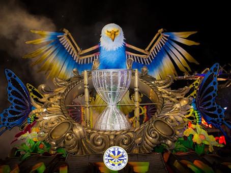Águia de Ouro sagra-se campeã do Carnaval de São Paulo