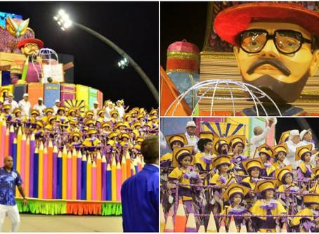 Escola que homenageou Paulo Freire, Águia de Ouro é campeã do carnaval em São Paulo