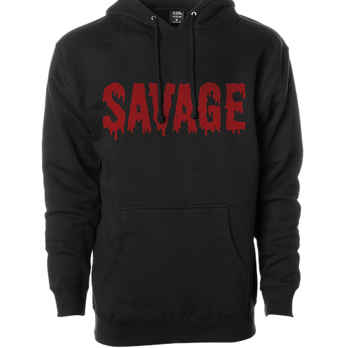 """Bloody Savage"" Winter Hood"