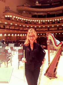 Carnegie Hall - post performance photo