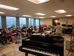 ARTemis rehearsal