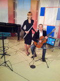 Duo AristoS TV show performance