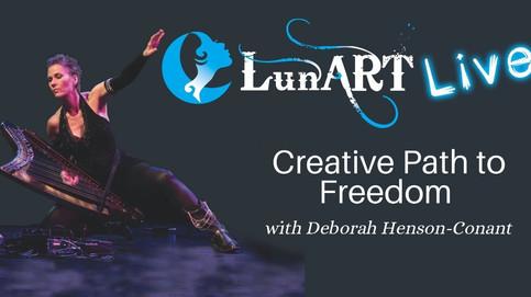 Creative Path to Freedom with Deborah Henson-Conant