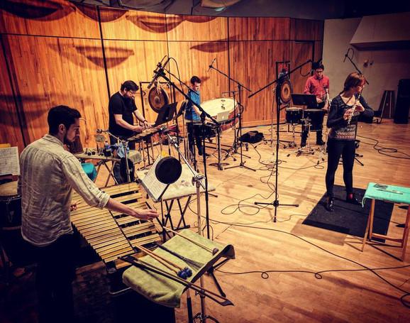 Salcia Recording Session