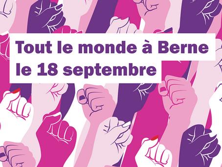 Manifestation: pas touche aux rentes des femmes!