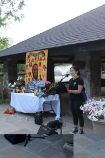 Tammy Delivering Speech