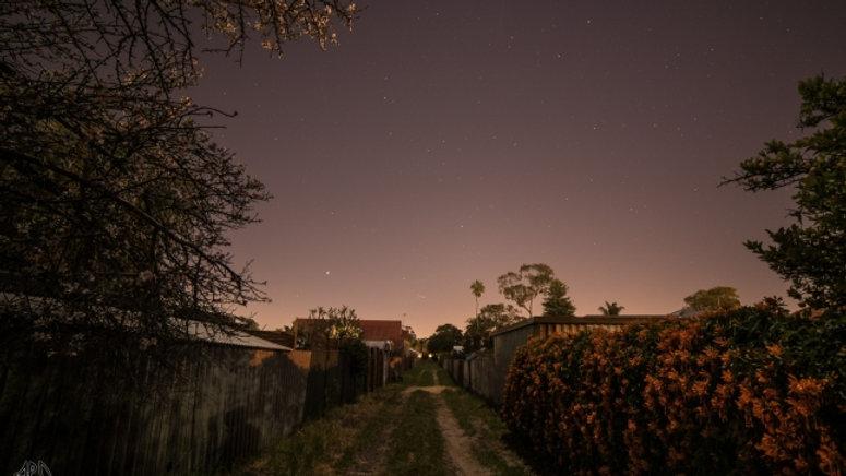 Laneway at Twilight