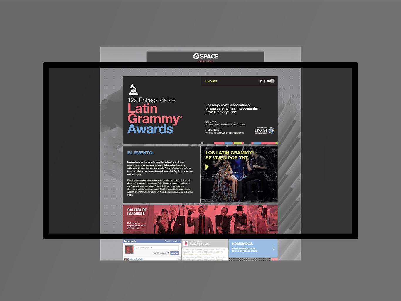 TURNER Latin Grammy