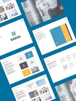 SAESA brandbook