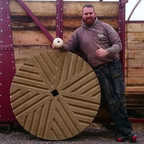 Swales In The Dales Hand Carved Millstones