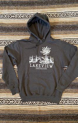 Grey Hooded Sweatshirt (Youth & Adult)