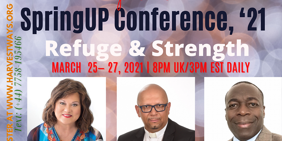 Spring Up Conference: March 25, 2021.