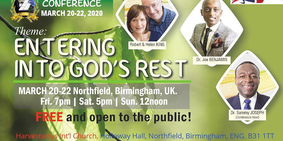 Spring Up Conference: March 22, 2020