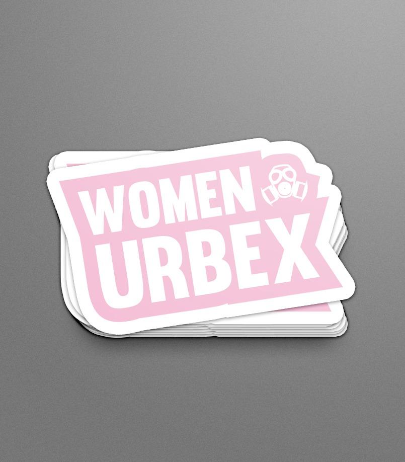 Women of Urbex Sticker & Logo