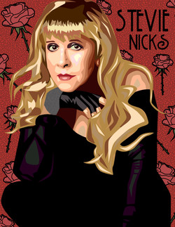 Stevie Nicks Fan Poster