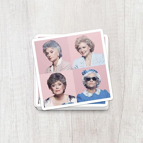 Golden Girls Pop Sticker