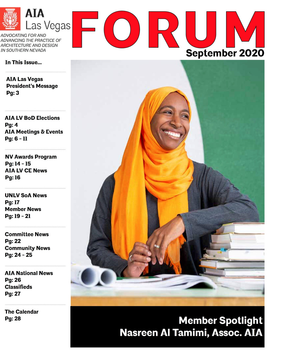NASREEN FEATURED IN AIA FORUM