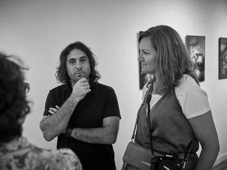 """Inauguración Exposición """"Mal de Mina"""" con Mingo Venero"""