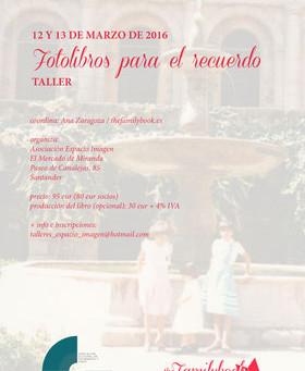 Taller FamilyBook - Ana Zaragoza