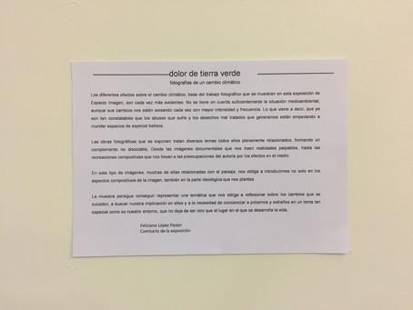 """Inauguración de """"Dolor de Tierra Verde"""""""
