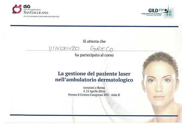 8 2016 4 - La gestione del paziente lase