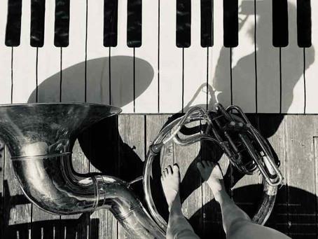 Floor Piano + Sousaphone