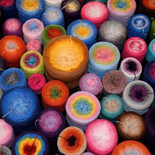 Design Your Own Cotton/Acrylic Yarn Cake