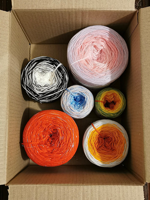 Yarn Cake 'Odd Box Bundle' 3