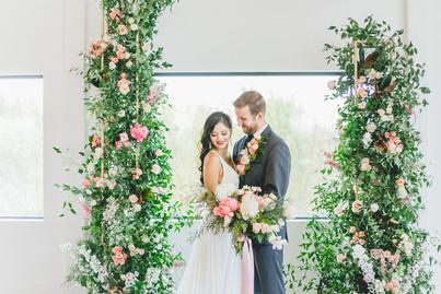 Emerald Hills Wedding | Emeralds & Golds Editorial | Promise City, Iowa