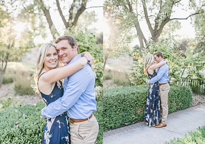 Taylor & Trevor   Greenery Summer Engagement   Pamperin Park   Green Bay, WI