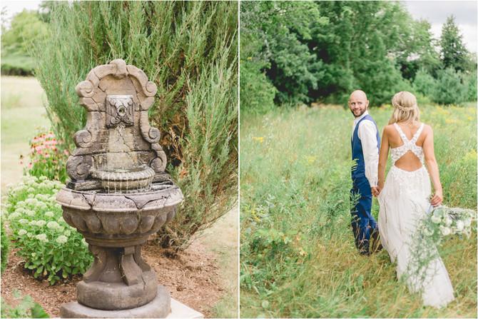 Romantic Vineyard Wedding   Ashley & Lance   Whistlers Knoll   Hortonville, WI