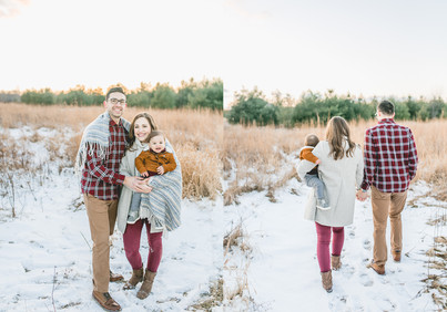 The Heinritz | Winter Family Session | Green Bay, WI