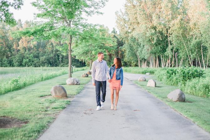 Heidi & TJ-Sunrise Engagement Session-Green Bay, WI