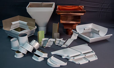 Miters, Conductor Heads, Outlets, and End Caps