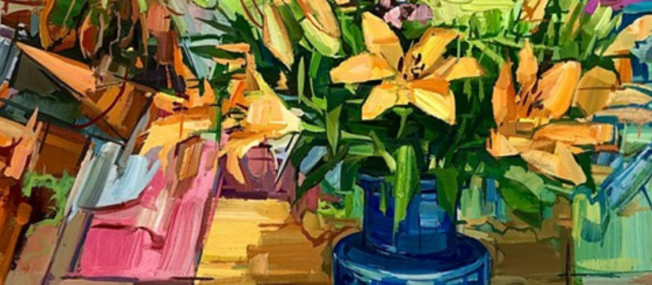 Artist Francis Sills-Painting from Life- From Urban Landscapes to Lush Spaces