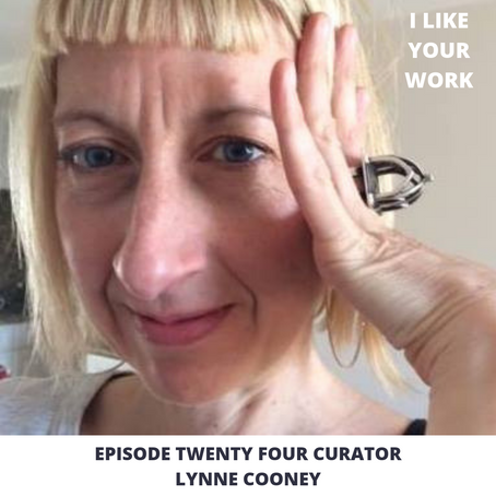 Eps 24: Finding the Right Space- Curator Lynne Cooney