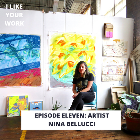 Artist Nina Bellucci: Bike Riding to a Room of One's Own