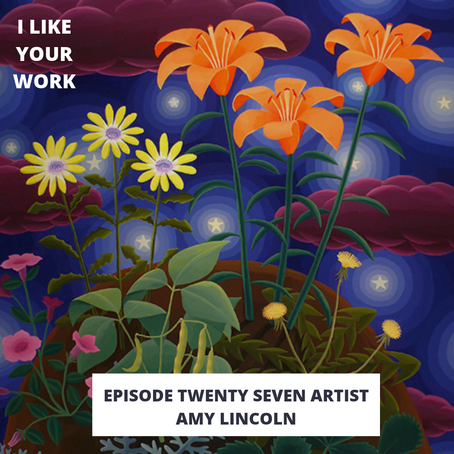 Eps 27: Artist Amy Lincoln-Color, Community and Starbucks Coffee Murals