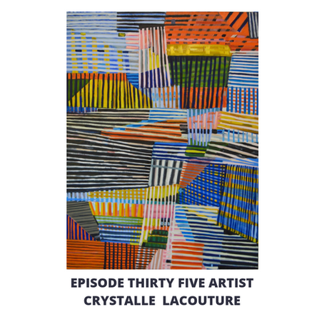 Eps 35: Artist Crystalle Lacouture-Painting, Collecting & Working with Nancy Spero & Leon Golub