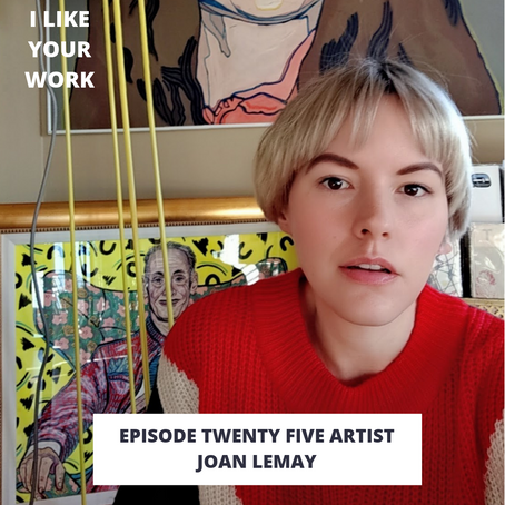 Eps 25: Artist Joan Lemay-Celebrating Lives, Supporting Artists & the Music Industry