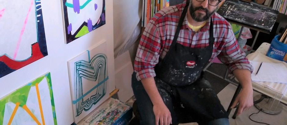 Artist Phillip J Mellen-Generosity, Making, and Painting