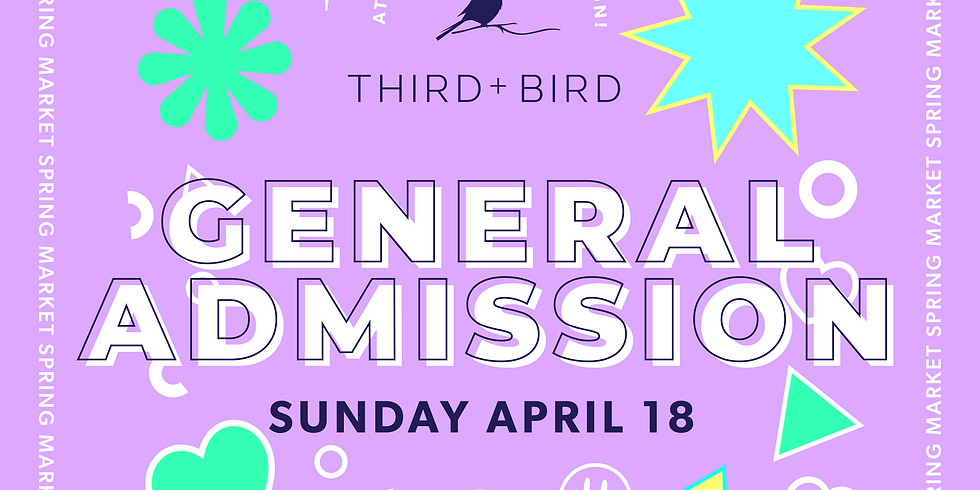 General Admission Tickets - SOLD OUT