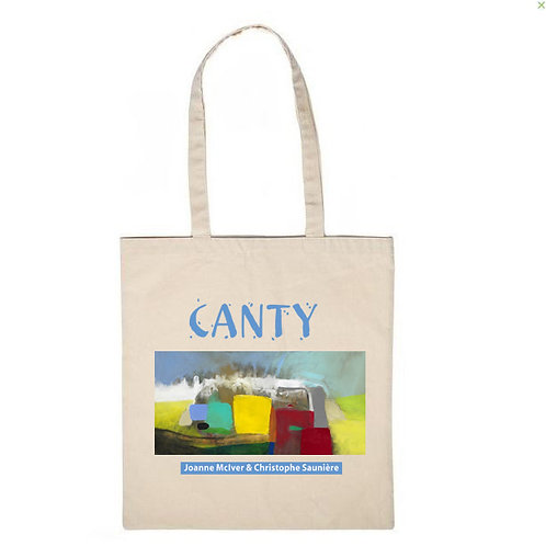"""tote bag """"CANTY"""""""