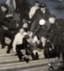 HUACCityHallstepsdragprotesters.jpg