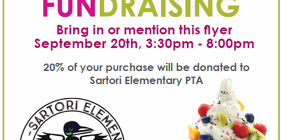 Menchies Fundraiser - for more details open event