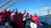 Seilkurs og båtførerkurs hos Fjordfun.