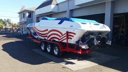 Custom Galvanized 2 axle trailer