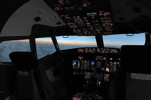 B737NG 5 Hours - Single Pilot