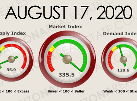 Arizona Real Estate Market Update August 17, 2020
